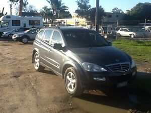 2007 Ssangyong Kyron D100 3.2I Grey 5 Speed Sequential Auto Wagon Hastings Mornington Peninsula Preview