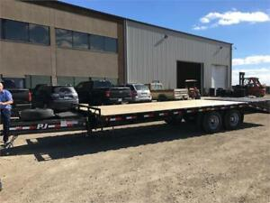30' Classic Pintle Trailer with Duals, 25K GVWR (PDP)