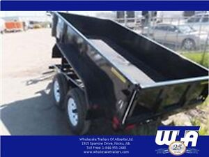 Yard work is calling, make it easy with this dump box trailer!