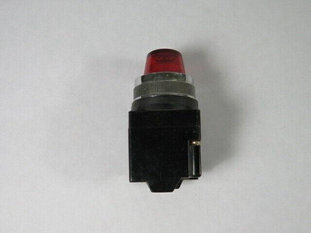 Koino KH-504 Red Pilot Lamp 220V 50/60HZ  USED