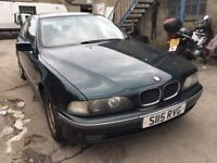BMW 520 automatic, starts and drives well, MOT until June 2019, has slight water leak, leather inter