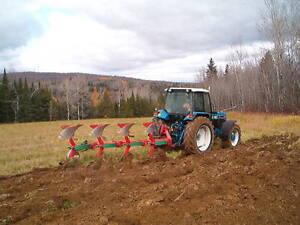 kverneland  roll over plow 4 bottem Québec City Québec image 1