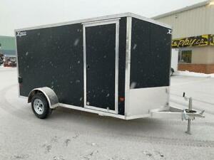 NEW 2019 XPRESS 6' x 12' ALUMINUM ENCLOSED TRAILER
