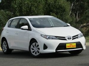 2013 Toyota Corolla ZRE182R Ascent S-CVT White 7 Speed Constant Variable Hatchback Strathalbyn Alexandrina Area Preview