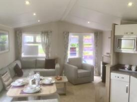 Willerby Skye luxury 3 bedroom caravan Mullion Lizard Cornwall Sophistication