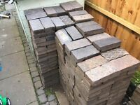 Victorian Blue Paving Blocks