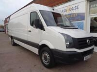 Volkswagen Crafter 2.0TDI ( 109PS ) 2015 CR35 LWB F/S/H 1 owner p/x