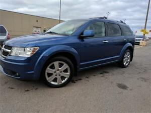 2010 Dodge Journey R/T AWD, Leather, Nav, DVD, Sunroof |$101 BW!
