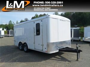 NEW 2016 STEALTH 8.5X16' SERVICE TRAILER 110V PACKAGE