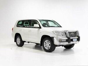 2008 Toyota Landcruiser UZJ200R Sahara (4x4) Crystal Pearl 5 Speed Automatic Wagon Cooee Burnie Area Preview