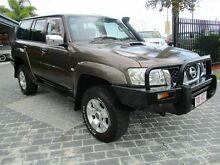 2005 Nissan Patrol GU IV ST-L (4x4) Brown 5 Speed Manual Wagon Springwood Logan Area Preview