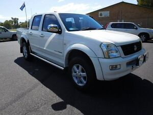 2004 Holden Rodeo RA LT Crew Cab White 4 Speed Automatic Utility Ballina Ballina Area Preview