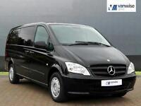 2011 Mercedes-Benz Vito 113 CDI BLUEEFFICIENCY DUALINER Diesel black Manual