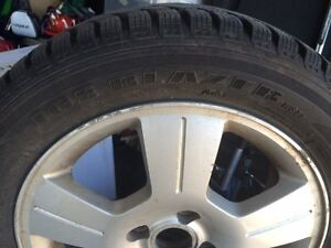4 Snow Tires and Rims London Ontario image 1