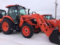 Kubota M7060HDCC12 Tractor and LA1154 Front Loader Brandon Brandon Area Preview