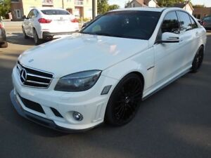 2010 Mercedes-Benz C-Class C63 AMG Full Lip Karbon Exhaust Magna