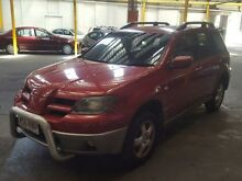 2004 Mitsubishi Outlander ZE XLS Red 4 Speed Auto Sports Mode Wagon Georgetown Newcastle Area Preview