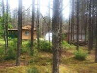 1 Acre land with cottage For Sale