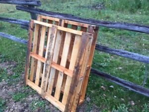 Old pallets wanted