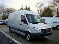 2008 MERCEDES BENZ SPRINTER 2.1 CDI 313 Ex High Roof 4dr LWB NO VAT