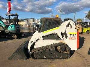 Bobcat T190 compact track loader - BWU0921 Kenwick Gosnells Area Preview