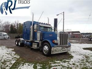 2007 PETERBILT 379L, REBUILT CAT C-15, NEW TRANSMISSION