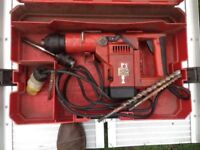Hilti TE-54 110V Working Drill For Only £80 - Was £680 - Great Deal