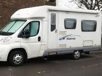 2009 GREAT SWIFT ACE SIENNA LHD MANUAL GEARBOX MOTORHOME WITH SOUGHT AFTER REAR LOUNGE