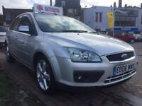 cheap diesel family car! ford focus ghia with reverse parking sensors!