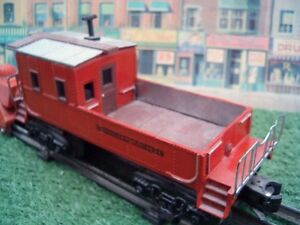 Lionel customized O27 scale CN &  CP train cabooses ONLY 2 LEFT