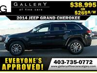 2014 Grand Cherokee LIMITED $269 bi-weekly APPLY NOW DRIVE NOW