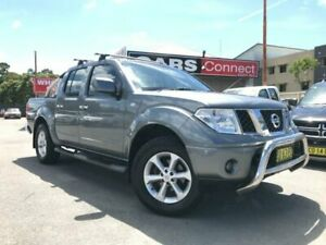 2011 Nissan Navara D40 ST (4x4) Grey 5 Speed Automatic Dual Cab Pick-up