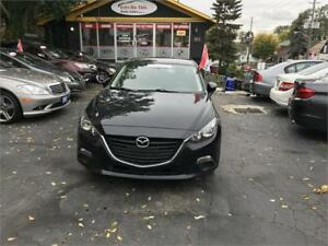 2014 Mazda MAZDA3 GX-SKY AUTO ONE OWNER CERTIFIED NO ACCIDENT