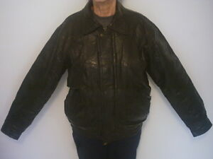 Veste de cuir - Leather jacket