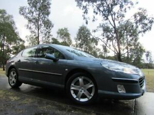 2008 Peugeot 407 ST HDi Grey 6 Speed Sports Automatic Sedan Dandenong Greater Dandenong Preview