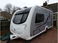 Swift Conqueror 480 caravan - 2012 model