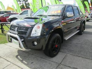 2007 Holden Rodeo LTZ RA Black 5 Speed Manual Dual Cab Capalaba Brisbane South East Preview