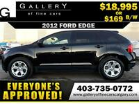 2012 Ford Edge SE $169 bi-weekly APPLY NOW DRIVE NOW