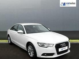 2013 Audi A6 TDI SE Diesel white CVT