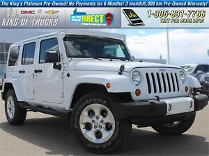 2013 Jeep Wrangler Unlimited Sahara Leather | Removable Hard-Top