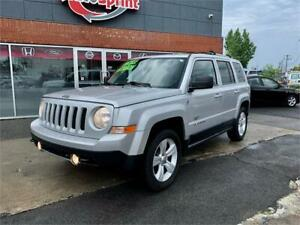 2011 JEEP PATRIOT, AUTOMATIQUE, LIMITED, 4X4, CUIR, TOIT, MAGS