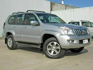 2003 Toyota Landcruiser Prado GRJ120R GXL (4x4) Silver 5 Speed Manual Wagon Caboolture Caboolture Area Preview