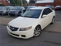 2004 Acura TSX Berline CUIR TOIT MAGS 4 CLY