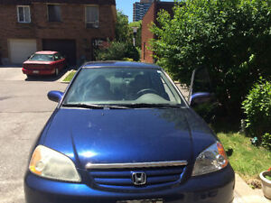2002 Honda Civic Sedan (WILLING TO NEGOTIATE  PRICE) ASAP