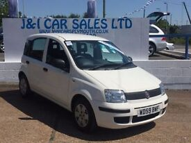 FIAT PANDA 1.1 ACTIVE ECO 5d 54 BHP www.jandicarsplymouth.co. (white) 2010