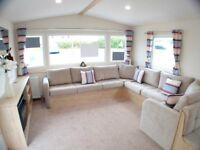 Brand New Family Caravan @ Southerness, Scotland Glasgow, Edinburgh, Ayr, Newcastle, Manchester