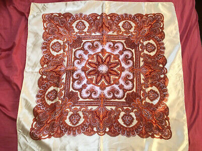 Vintage Scarf Styles -1920s to 1960s Vintage Scarf Made In Japan $12.10 AT vintagedancer.com
