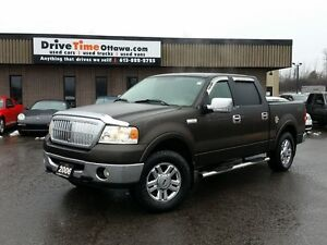 2006 Ford F-150 LARIAT CREW CAB 4X4 **FACTORY DVD PLAYER**