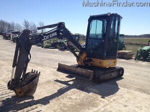 2014 John Deere 27D Mini Excavator