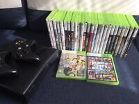 XBOX 360 with 28 games Bargain